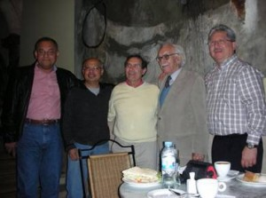 Con Guillermo Estarellas