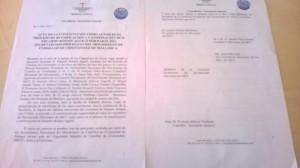 Acta del proceso de beatificación de EB